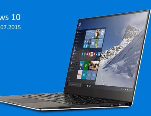 Windows 10 излиза на 29 юли 2015.