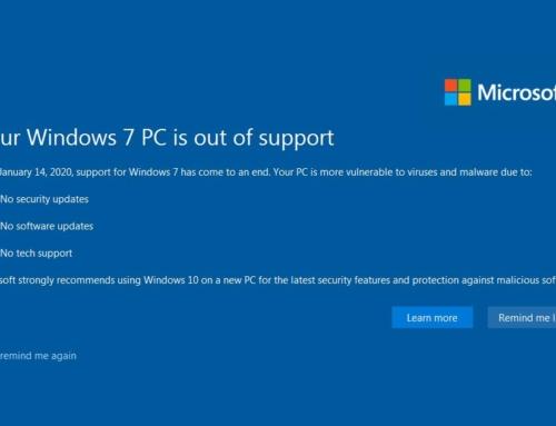 Microsoft спря поддръжката на Windows 7